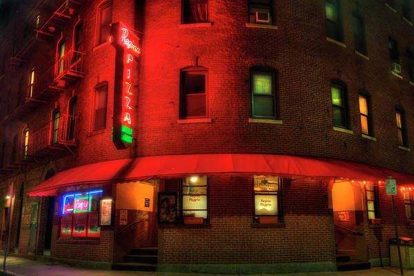 Wall Art - Photograph - Regina Pizza - North End Boston by Joann Vitali