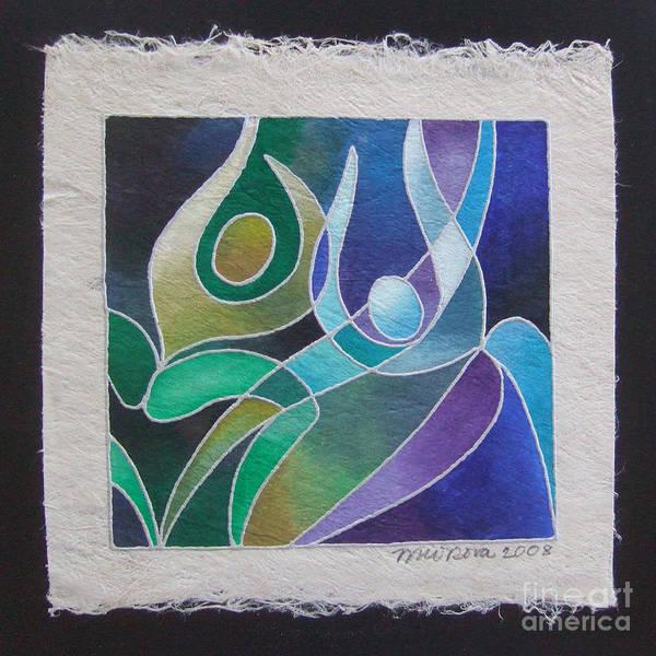 Painting - Reki Iv - Dance For Joy by Maria Rova