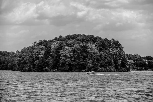Relaxing On Lake Keowee In South Carolina Art Print