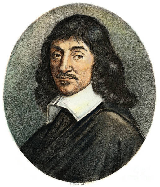 Drawing - Rene Descartes, 1596-1650 by Granger
