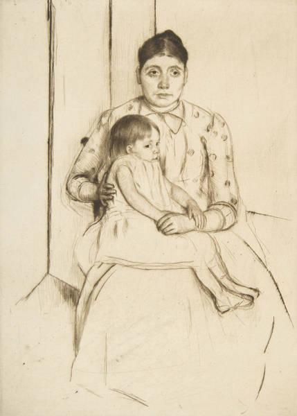 Relief - Repose by Mary Cassatt