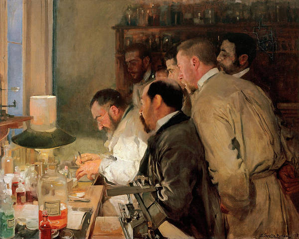 Research Painting - Research by Joaquin Sorolla