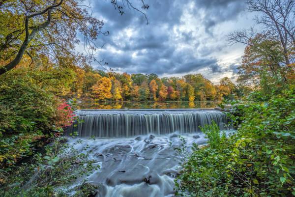 Wall Art - Photograph - Reservoir Falls by June Marie Sobrito