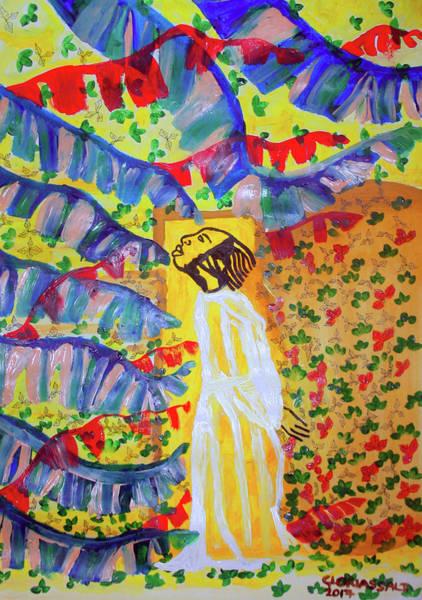 Arisen Painting - Ressurection by Gloria Ssali