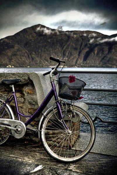 Flowers Bike Wall Art - Photograph - Retro Bike by Joana Kruse