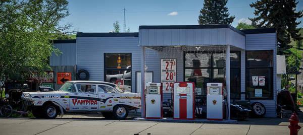 Wall Art - Photograph - Retro Gas Station by Paul Freidlund