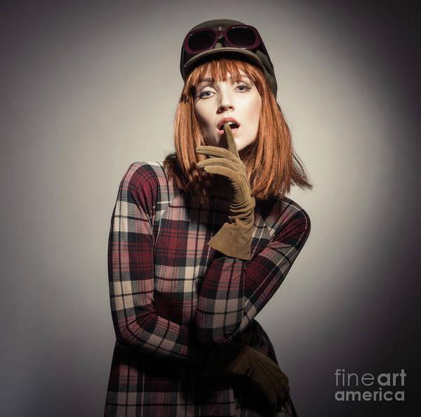 Seventies Photograph - Retro Style Fashion by Amanda Elwell