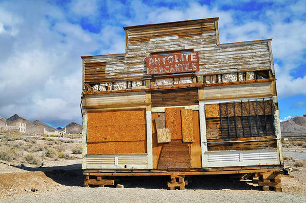 Photograph - Mercantile Rhyolite Ghost Town by Kyle Hanson