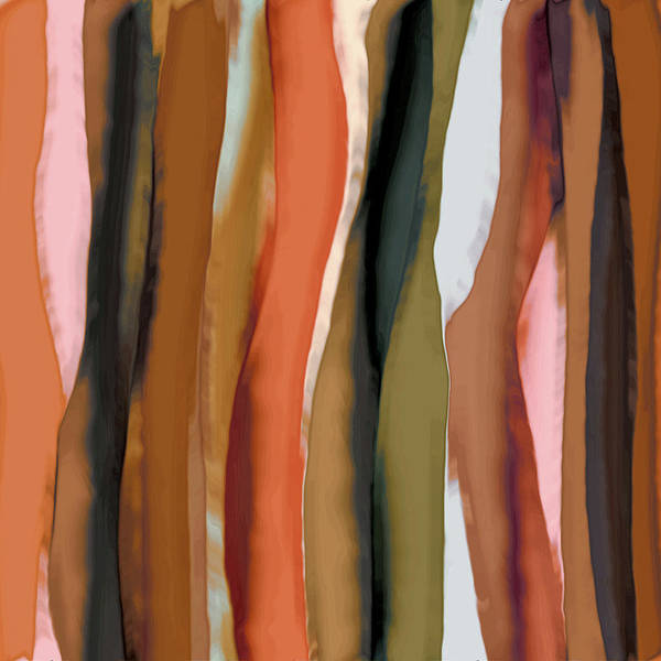 Wall Art - Painting - Ribbons by Bonnie Bruno