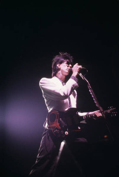 Photograph - Ric Ocasek Of The Cars by Rich Fuscia