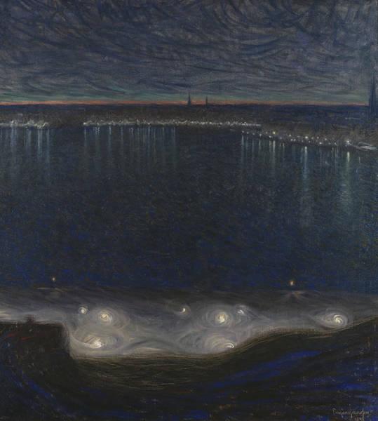 Painting - Riddarfjarden, Stockholm by Eugene Jansson