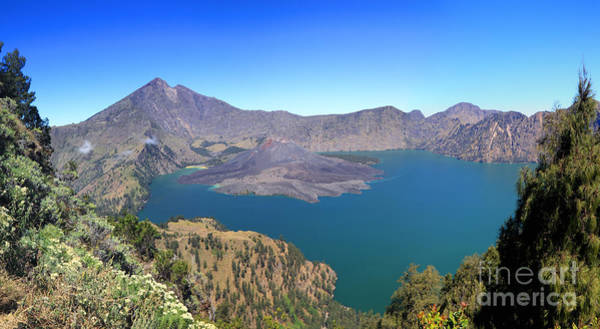 Photograph - Rinjani Panorama by Warren Photographic