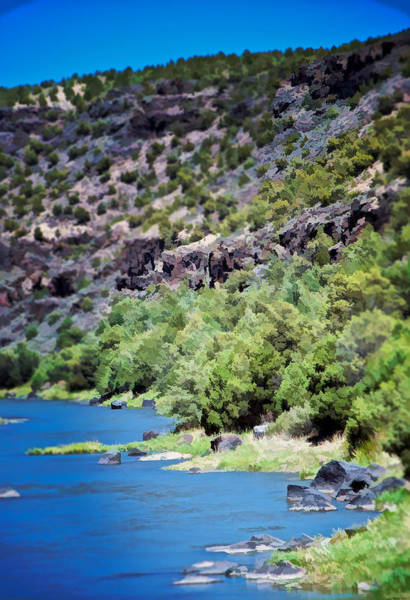 Photograph - Rio Grande Gorge  by Charles Muhle