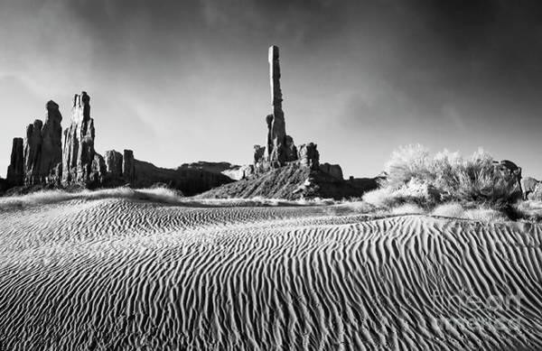 Photograph - Rippled Dunes by Scott Kemper
