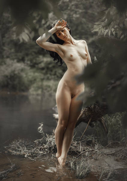 Photograph - River Nymph by Dmitry Laudin