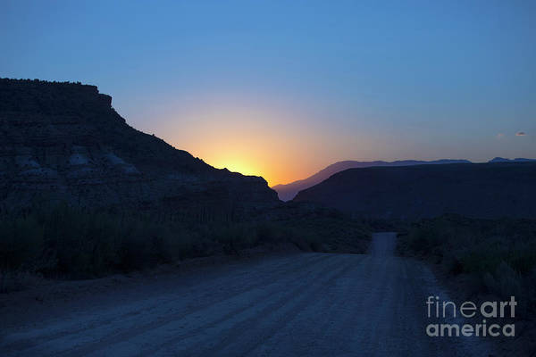 Wall Art - Photograph - Road To The Old Ghost Town by Diane Diederich