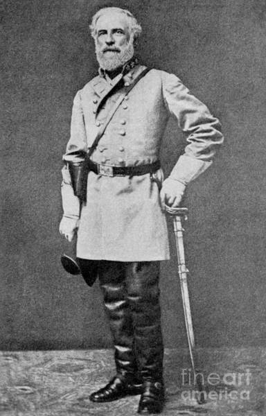 Commander Photograph - Robert E Lee by American School