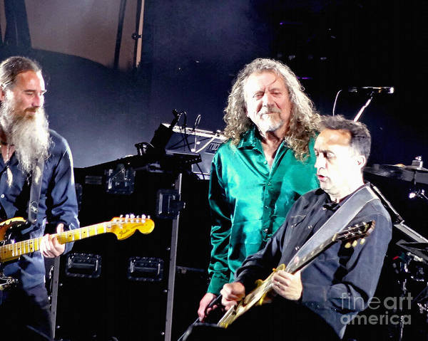 Photograph - Robert Plant And The Sensational Space Shifters.1 by Tanya Filichkin