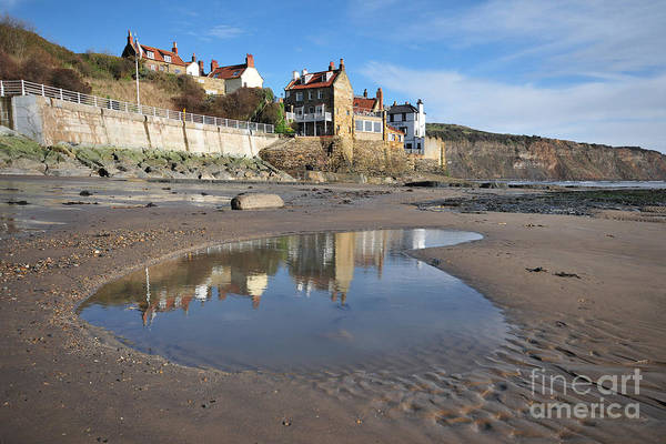 Bays Photograph - Robin Hoods Bay by Smart Aviation