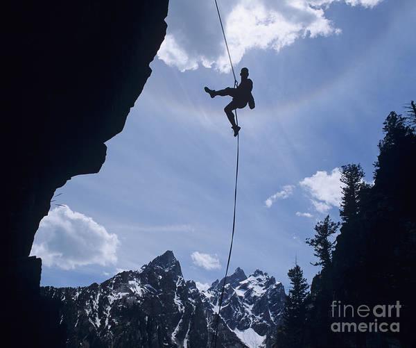 Photograph - Rock Climbing by Howie Garber