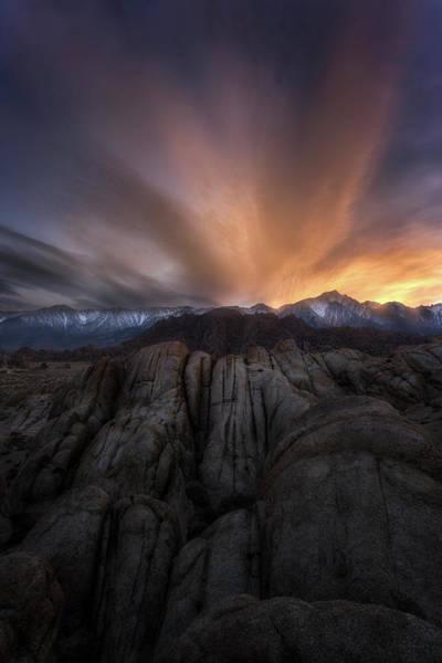 Wall Art - Photograph - Rock Eruption by Nicki Frates