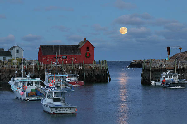 Photograph - Rockport Massachusetts by Juergen Roth