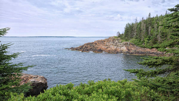 Photograph - Rocky Inlet by John M Bailey