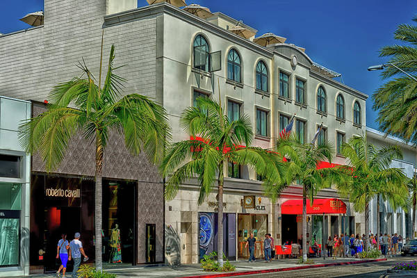 Wall Art - Photograph - Rodeo Drive - Beverly Hills by Mountain Dreams