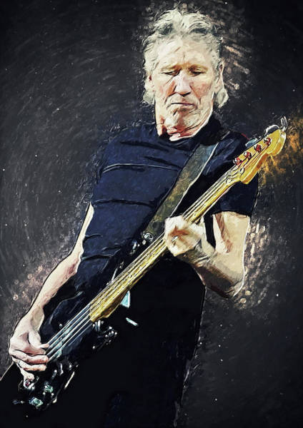Wall Art - Digital Art - Roger Waters by Zapista Zapista