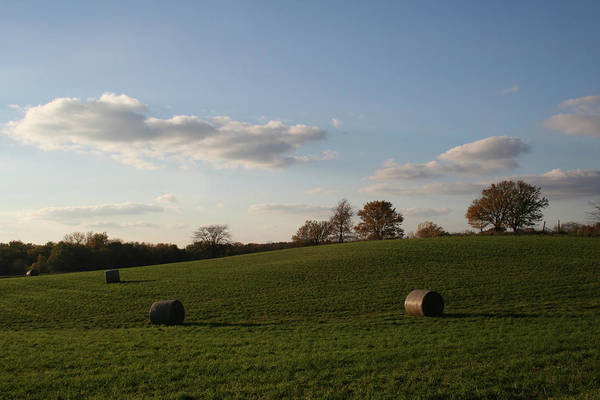 Photograph - Rolling Bales by Dylan Punke