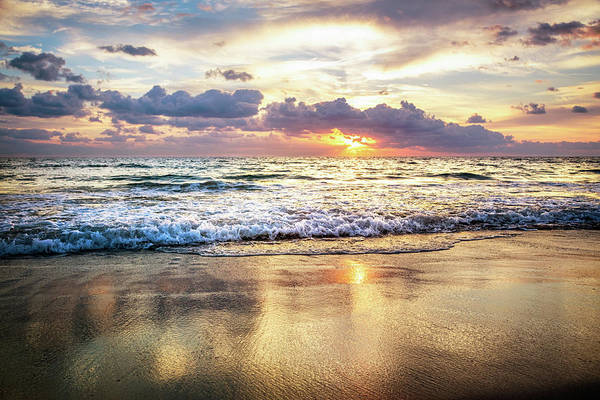 Photograph - Rolling In With The Tide by Debra and Dave Vanderlaan