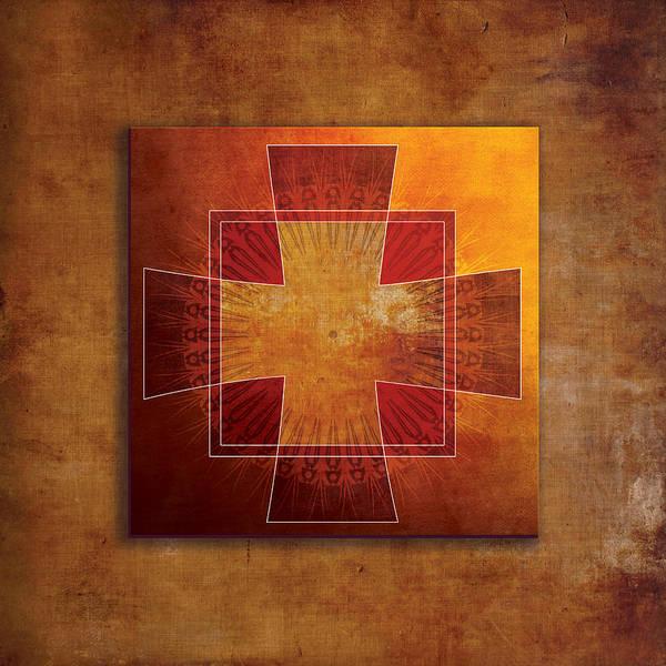Davis Digital Art - Roman Cross #3 by Terry Davis
