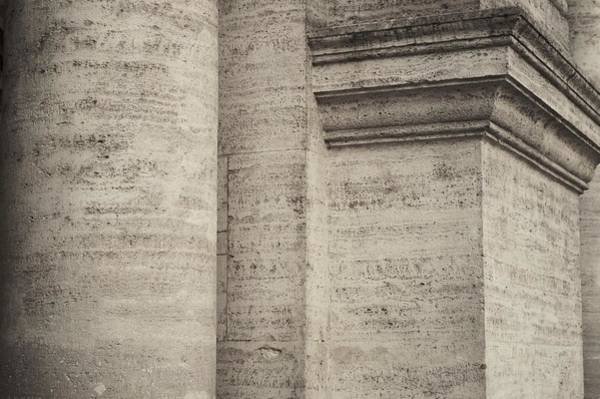Pyrography - Rome, Stunning Detail Of Classical Architecture by Airo Zamoner