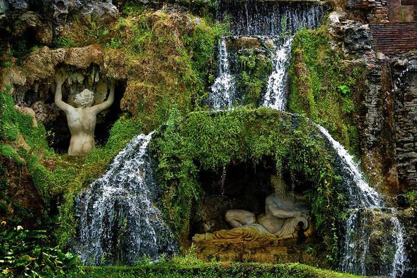 Photograph - Rometta Fountain  by Harry Spitz