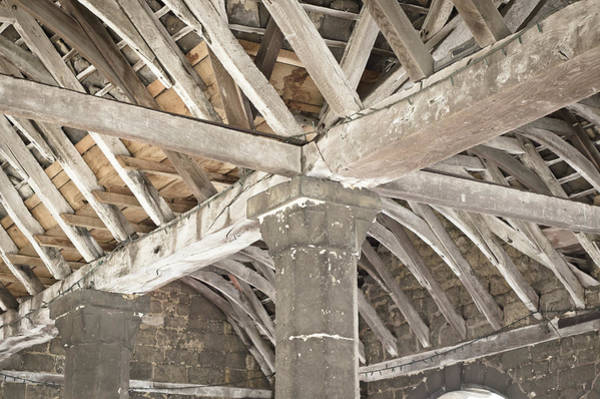 Wall Art - Photograph - Roof Timber by Tom Gowanlock