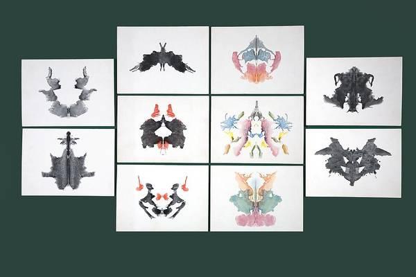 Wall Art - Photograph - Rorschach Inkblot Test by Sheila Terry