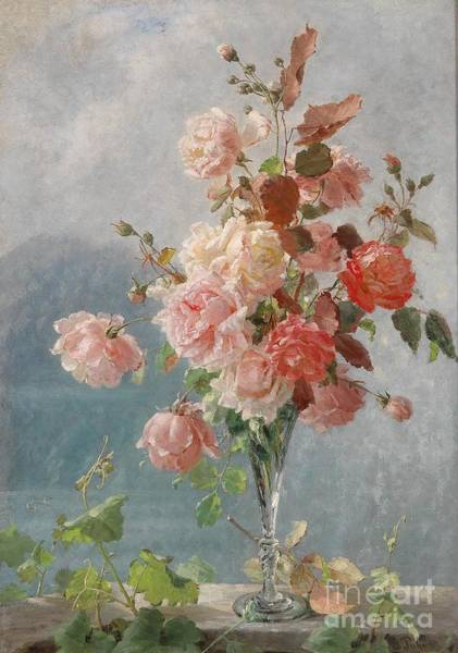 Painting - Roses by Celestial Images