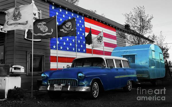 Wall Art - Photograph - Route 66 Seligman Arizona  by Bob Christopher