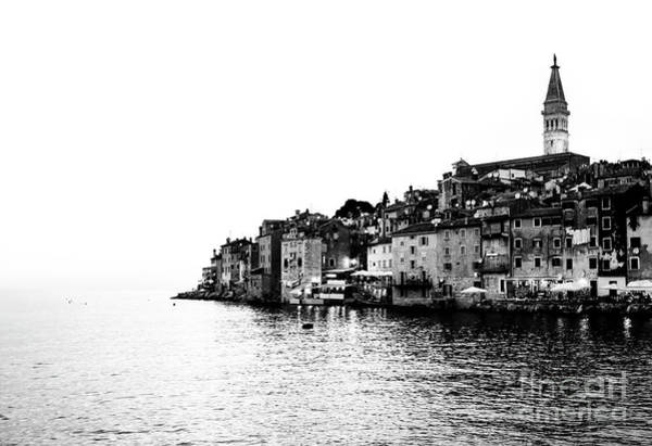 Wall Art - Photograph - Rovinj Old Town In Black And White 2 by Jason Knott