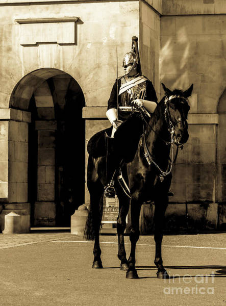 Photograph - Royal Horseguard, London, Uk. by Nigel Dudson