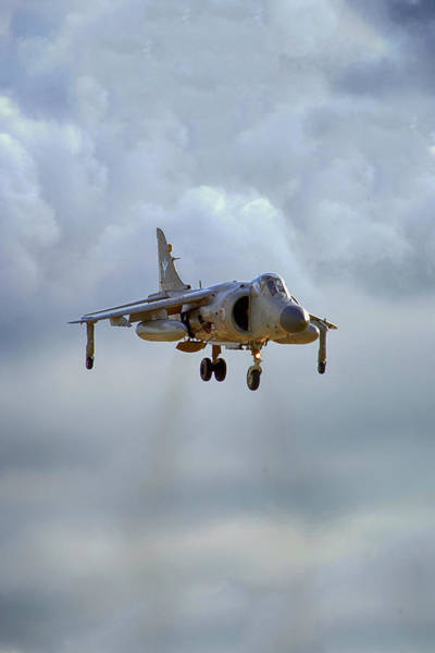 Av8 Photograph - Royal Navy Sea Harrier. by Chris Smith