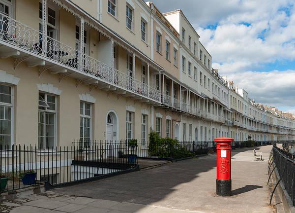 Photograph - Royal York Crescent, Bristol by Colin Rayner