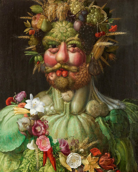 Painting - Rudolf II Of Habsburg As Vertumnus by Giuseppe Arcimboldo