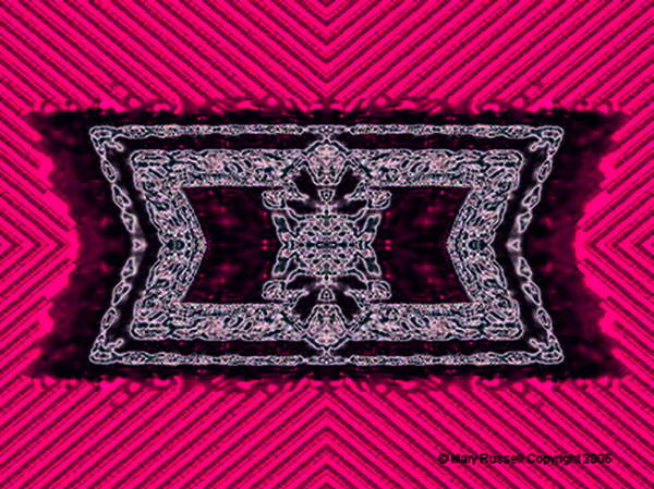 Digital Art - Rug by Mary Russell