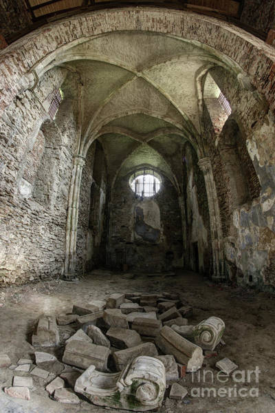 Wall Art - Photograph - Ruins Of The Augustinian Monastery, Pivon, Czech Republic  by Michal Boubin