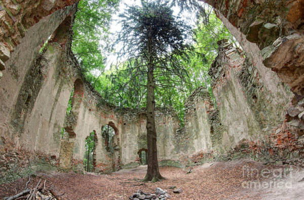 Tourism Wall Art - Photograph - Ruins Of The Baroque Chapel Of Saint Mary Magdalene by Michal Boubin