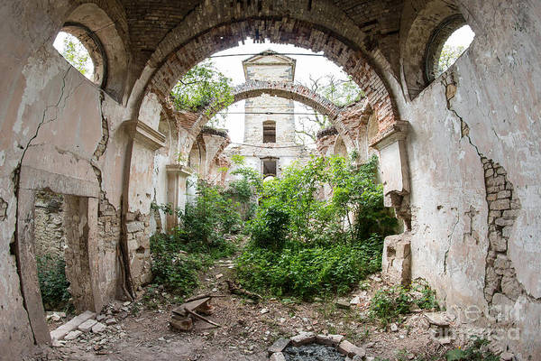 Old Wall Art - Photograph - Ruins Of The Church Of St Wenceslas by Michal Boubin