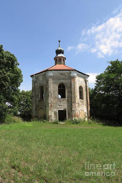 Loretto Chapel Photograph - Ruins Of The Loretto Chapel by Michal Boubin