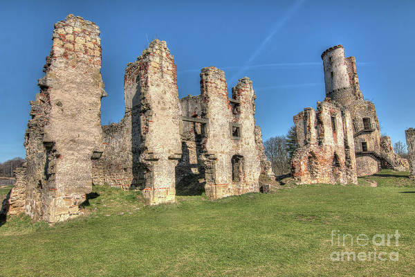 Wall Art - Photograph - Ruins Of Zviretice Castle by Michal Boubin