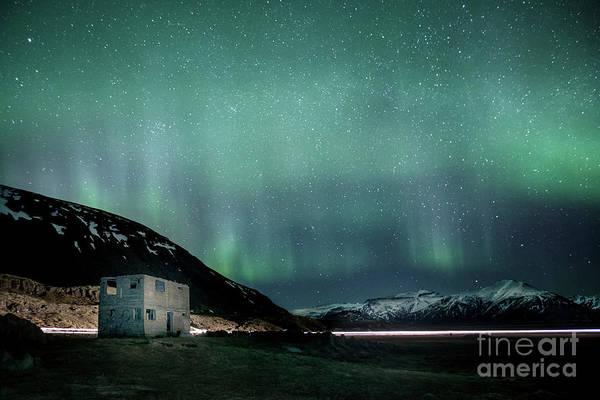 Abandoned House Photograph - Run Through The Night by Evelina Kremsdorf